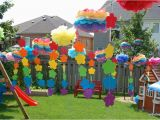 Rainbow themed Birthday Party Decorations Rainbow Party the Birthday Party northstory
