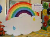 Rainbow themed Birthday Party Decorations Rainbow theme Wish Tree Untumble Com