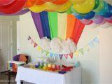 Rainbow themed Birthday Party Decorations Rainbow themed Birthday Party events to Celebrate