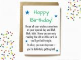 Raunchy Birthday Cards Funny Dirty Birthday Card for Boyfriend or Husband Only