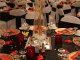 Red 50th Birthday Decorations White and Gold Decorations for Weddings New Red Black and