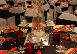 Red 50th Birthday Decorations Elegant 50th Birthday Party Gold Red