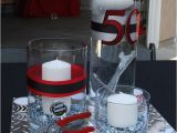 Red and Black 50th Birthday Decorations 50th Birthday Party Ideas for Men tool theme