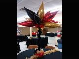 Red and Black 50th Birthday Decorations How I Made This Red and Black Taper Balloon Centerpiece