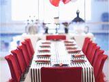 Red and Black 50th Birthday Decorations Kara 39 S Party Ideas Black White Red Elegant Birthday