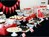 Red Black and White Birthday Decorations Black White and Red Decorations for Party Pictures Black