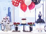 Red Black and White Birthday Decorations Kara 39 S Party Ideas Black White Red Elegant Birthday Party