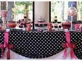 Red Black and White Birthday Decorations Pink and Black Party Decorations 9 High Resolution