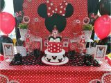 Red Minnie Mouse Birthday Party Decorations Minnie Mouse Birthday Party Ideas Photo 13 Of 17 Catch