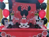 Red Minnie Mouse Birthday Party Decorations Minnie Mouse Birthday Party Ideas Photo 9 Of 17 Catch