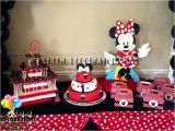 Red Minnie Mouse Birthday Party Decorations Party Decorations Miami Balloon Sculptures