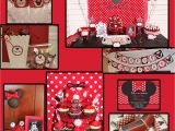 Red Minnie Mouse Birthday Party Decorations Red Party Decorations theamphletts Com