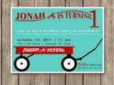 Red Wagon Birthday Invitations Items Similar to Radio Flyer Red Wagon Invitations