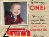 Red Wagon Birthday Invitations Little Red Wagon Birthday Party Invitations Printable by