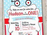 Red Wagon Birthday Invitations Red Wagon Birthday Invitation Little Red by thelovelyapple