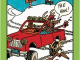 Redneck Birthday Cards Redneck Rudolph Funny Humorous Christmas Card by Nobleworks