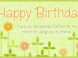 Religious Birthday Cards for A Friend Free Honored Friend Ecard Email Free Personalized