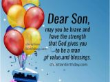 Religious Birthday Cards for son Happy Birthday Wishes to My son Quotes and Image