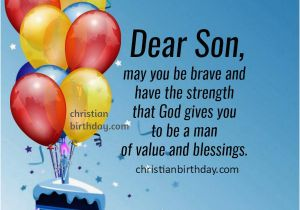 Religious Birthday Cards For Son Happy Wishes To My Quotes And Image
