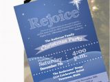 Religious Birthday Invitations Items Similar to Christian Christmas Party Invitation On Etsy