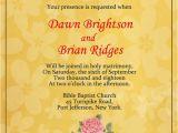 Religious Birthday Party Invitation Wording Christian Wedding Invitation Wording Samples Wordings