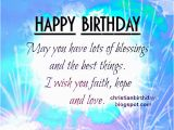 Religious Happy Birthday Messages Quotes and Saying Christian Birthday Quotes for Men Quotesgram