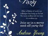 Retirement and Birthday Party Invitation Wording Retirement Party Invitation Wording Ideas and Samples