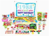 Retro Birthday Gifts for Him Woodstock Candy 1988 30th Birthday Gift Box Of Retro