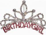 Rhinestone Birthday Girl Tiara Birthday Girl Tiara Ebay