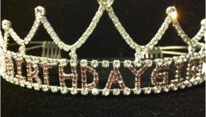 Rhinestone Birthday Girl Tiara Rhinestone Birthday Girl Princess Tiara by