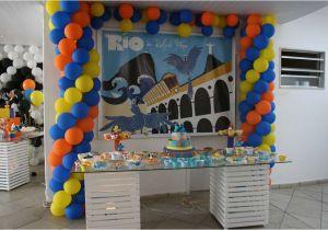 Rio Birthday Decorations Rio Movie Birthday Party Ideas Photo 1 Of 13 Catch My