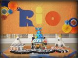 Rio Decorations for Birthday Party Rio Movie Birthday Party Ideas Photo 1 Of 24 Catch My