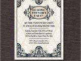 Roaring 20s Birthday Invitations 8 Curated Art Deco Design Ideas by Marcmaneditor Behance