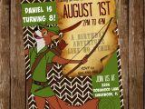 Robin Hood Birthday Party Invitations Disney 39 S Customized Robin Hood Invitation 5×7 Jpg and