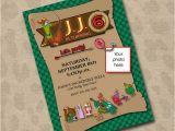 Robin Hood Birthday Party Invitations Robin Hood Birthday Invitation Digital Diy 15 00 Via