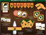 Robin Hood Birthday Party Invitations Robin Hood Printable Birthday Party Robin Hoods