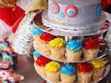 Robot Birthday Decorations Boy 39 S Birthday Party Ideas Robot Birthday Pear Tree Blog