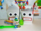 Robot Birthday Decorations Kara 39 S Party Ideas Robot Birthday Party Ideas Supplies