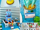 Robot Birthday Decorations Kara 39 S Party Ideas Robot Party with Lots Of Fun Ideas Via