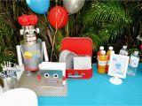Robot Birthday Decorations Partylicious events Pr Birthdays Robot Party