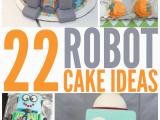 Robot Birthday Decorations Robot Cake Ideas