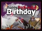 Rock and Roll Birthday Cards Free Happy Rock N Roll Birthday Guitars by Valxart Artist
