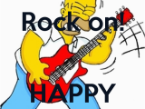 Rock and Roll Birthday Cards Free Rock On Happy Birthday Poster Rute Keep Calm O Matic