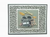 Rock and Roll Birthday Cards Rock 39 N Roll Birthday Card Handmade Paper Greeting Card