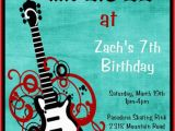 Rock and Roll Birthday Invitations Items Similar to Rockstar Birthday Invitation Rock Star