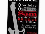 Rock and Roll Birthday Invitations Rock and Roll Birthday Quotes Quotesgram
