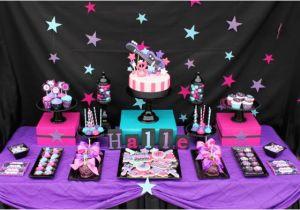 Rock Star Birthday Party Decorations Kara 39 S Party Ideas Girly Rock Star Dance Pink Birthday