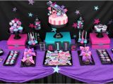 Rock Star Birthday Party Decorations Kara 39 S Party Ideas Girly Rock Star Dance Pink Birthday