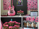 Rock Star Birthday Party Decorations Vip Rock Star Party Ideas Crazy for Crust