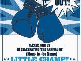 Rocky Balboa Birthday Card Boxing Party Invitations for Any event Boxing Birthday